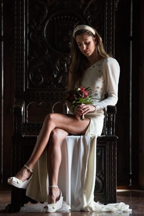 diseñadora de moda. fashion. novias .vestidos de noche